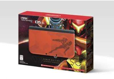 Console NEW 3DS XL Rouge METROID