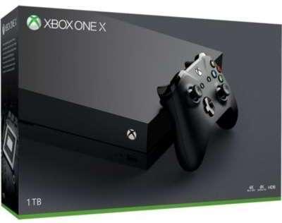 Console Xbox One X Microsoft