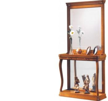 Console 2 tiroirs 1 miroir