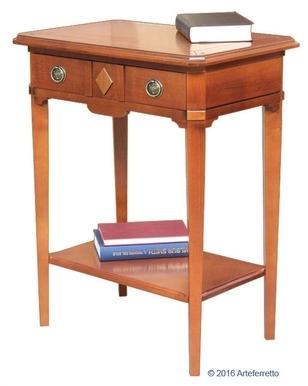 Table console en bois massif
