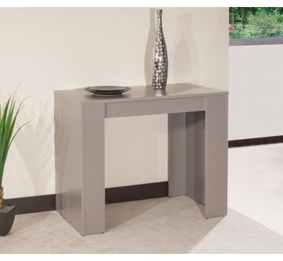Console ELASTO taupe mat extensible