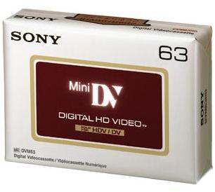 SONY Cassette Mini DVM 63