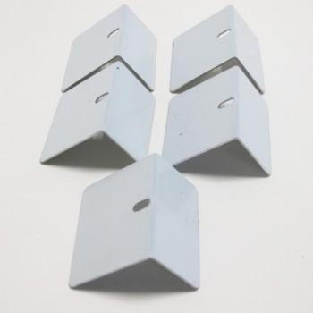 Arrêt aluminium de plaque