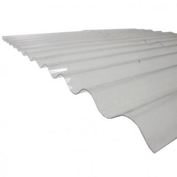 Plaque polycarbonate ondulée