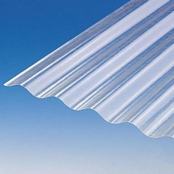 Plaque polyester ondulée toit