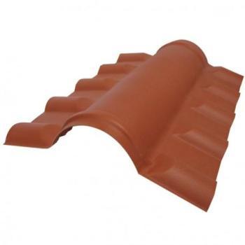 Faîtière PVC pour toiture