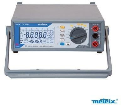 Multimètre de table MX5060