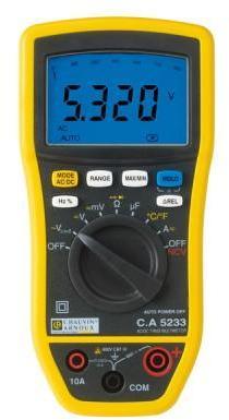 Multimètre numérique CA5233