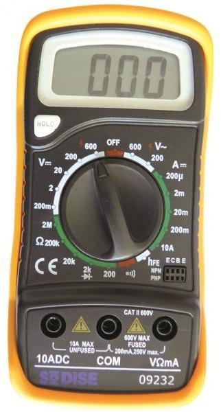 Multimètre digital avec béquille