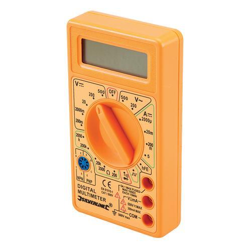 Multimètre numérique CC et