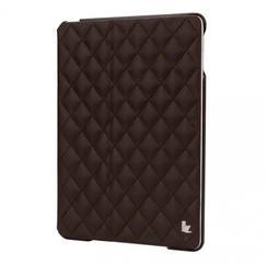 tui iPad Air 2 cuir matelassé