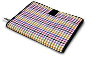 Housse iPad Folio Vichy multicouleurs