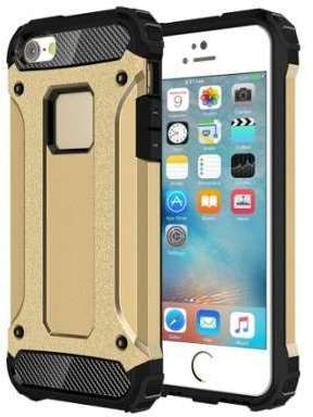 Coque Armure Robuste Or pour
