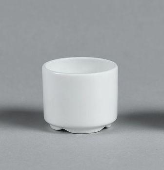 Coquetier Miramar blanc -