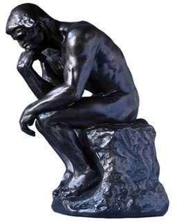 Sculpture Le penseur - 23