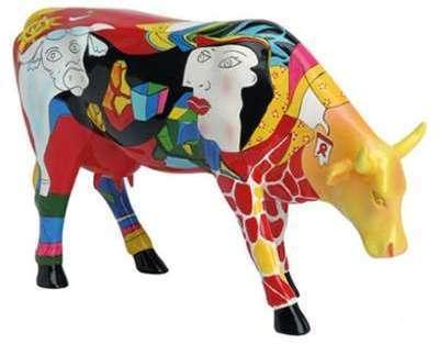 Figurine vache Picowso période
