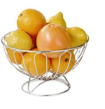 Corbeille à fruits basse en