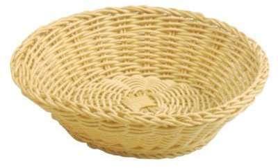 Corbeille à pain ronde tressée