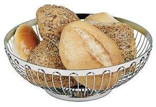 Corbeille à pain 25 cm - Inox
