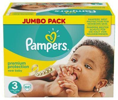 Pampers Couches New Baby Taille