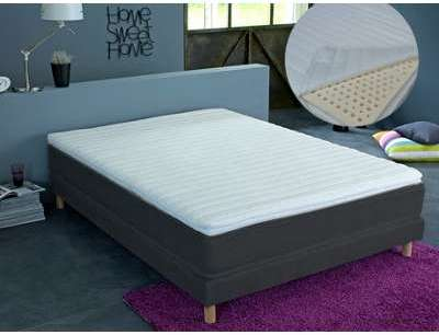 Surmatelas 3 zones déhoussable