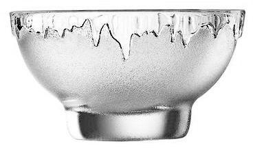 Coupe à glace transparente