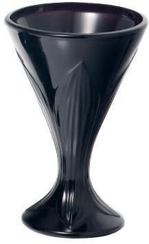 Coupe à glace noire 20cl -