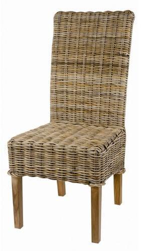 2 x Chaise en Kubu tressé
