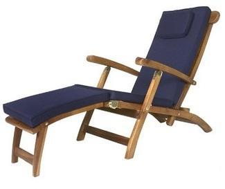 Matelas Bleu pour Chaise longue