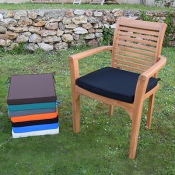 Coussin Noir pour fauteuil