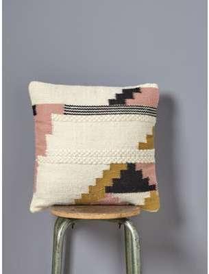 Coussin ethnique en laine