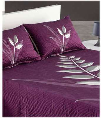Coussin 50 70 Nayla prune