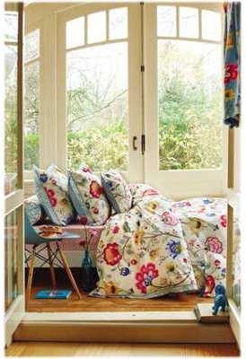 Coussin 45 45 Floral fantasy