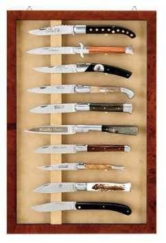 Vitrine Murale pour 10 couteaux