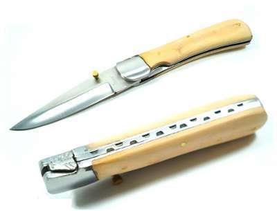 Couteau pliant 21 5cm - bois