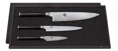 Set de 3 couteaux KAI (Shun