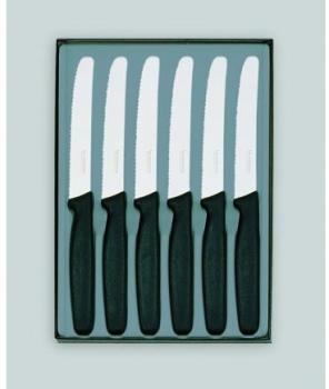 Coffret 6 couteaux de table