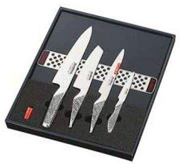 Coffret 4 couteaux japonais