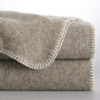 Couverture 100 laine naturellement