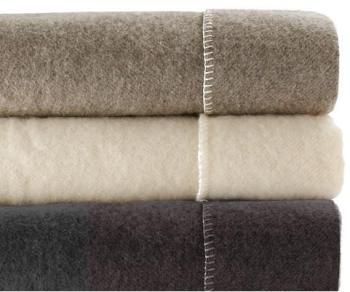 Couverture pure laine bio