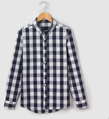 urban chemise carreaux double homme noir blanc s. Black Bedroom Furniture Sets. Home Design Ideas