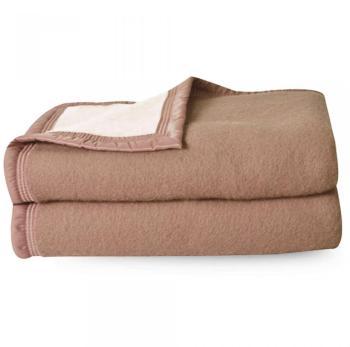 Couverture pure laine vierge