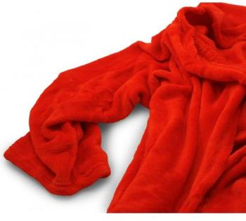 Couverture Hugz Deluxe rouge