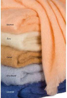 Couverture Mohair Lit 2 places