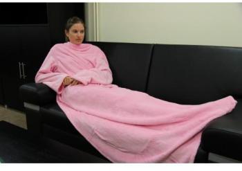 Hugz de luxe Couverture rose