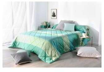 Couvre lit matelassé à large