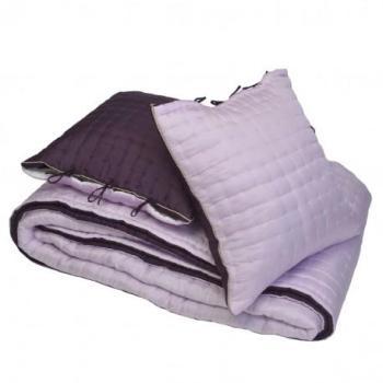 Couvre lit matelassé en soie