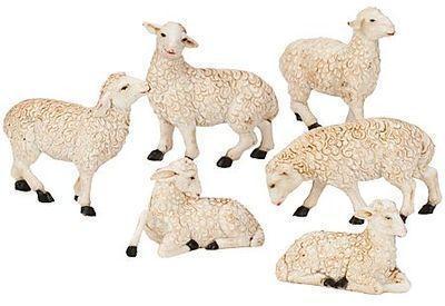Moutons blanc marron 4 - 5