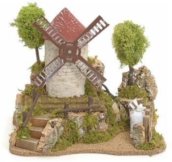 Moulin à vent électrique avec