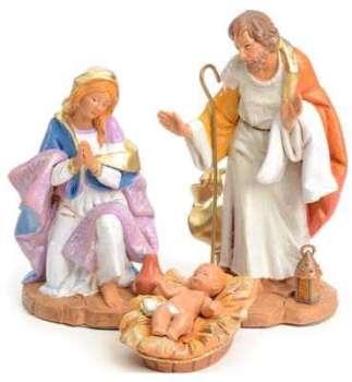 Sainte Famille crèche Fontanini